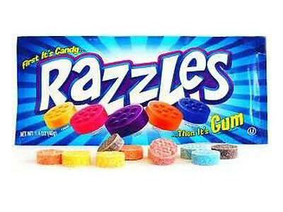 Razzles - Candy Lolly Kids Favorite that Turns into Gum