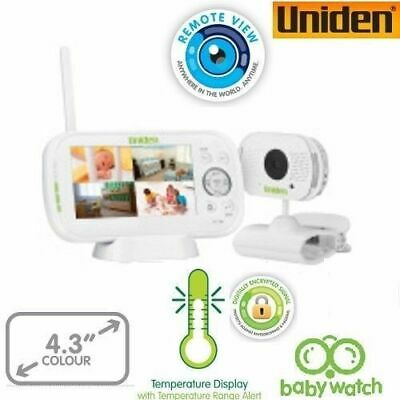 UNIDEN BW3101 4.3inch LCD baby watch Wireless Monitor See and Hear your child