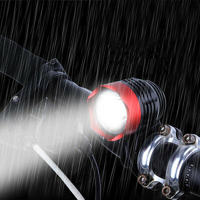 1200 Lumen T6 USB LED Cycling Bicycle Headlight Waterpoof Bike Front Light Lamp