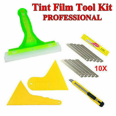 5 PCS Auto NEW Window Tinting Tools Film Application Tools Kits Squeegee AU SHIP