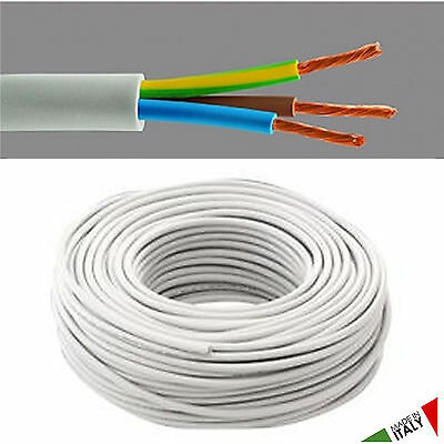ELECTRIC CABLE MULTIPOLAR FROR 2x1 (BLUE-BROWN) + 2X1,5 (BLACK-RED) CUT TO METRE