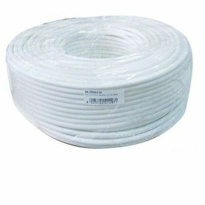 Electric Cable Multipolar Bipolar Pvc White 2X0,75 Price For 2 Metres Of Cable