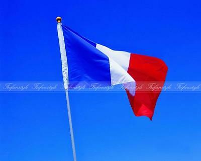 France flag new 3x5ft french soccer 90x150cm satin type material  free shippiing