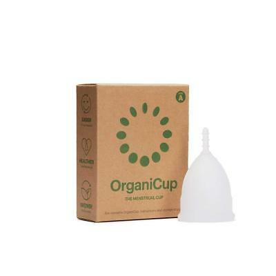 OrganiCup Cup Size A - For Women below 30 and Who Haven't Given Birth
