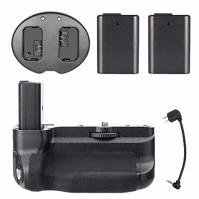 Meike MK-A6300 Battery Grip For SONY A6300 + 2PCS FW50 Battery + Charger +Remote