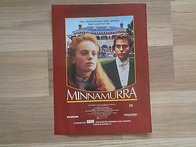 Minnamurra Ad_MAGAZINE CLIPPINGS_ships from AUS!_18B