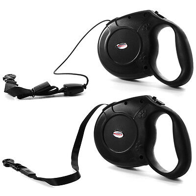 Automatic Retractable Pet Dog Cat Puppy Traction Rope Walking Lead Leash 5m/8m