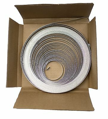 Allfasteners 201 Stainless Steel Band 1/2x100ft Roll Banding Strap .030 Domestic