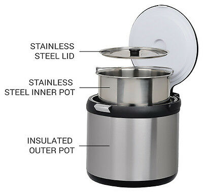 Billyboil Thermal Cooker - Thermo Cooking Eco Pot - Camping, Caravan & Home Use