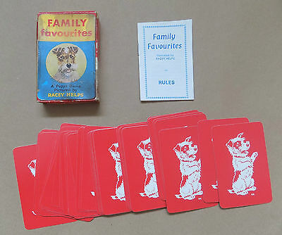 Vintage PEPYS SERIES Family Favourites Card Game