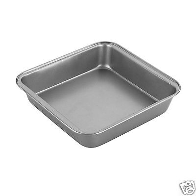 Chef Aid Non Stick Brownie Baking Tray Tin & Square Cake Tin Pan