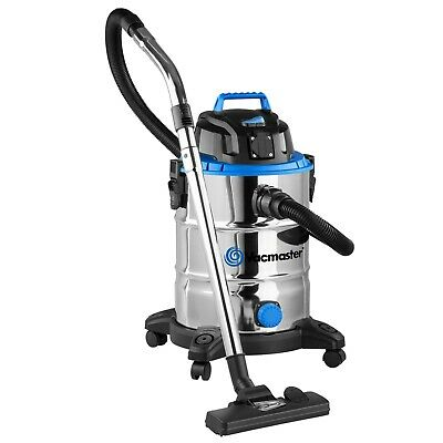 Wet and Dry Vacuum Cleaner | Powerful Bagless Wet Dry Vac 30L with Blower & PTO