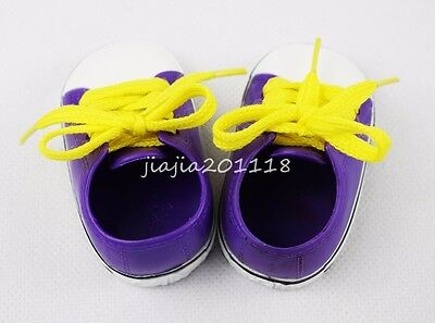 Lace-up Shoe Fit For 18'' American Girl Dolls Clothes Footwear Gifts