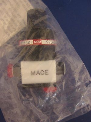 Mace 990-1422-212 2 Way Valve, NEW