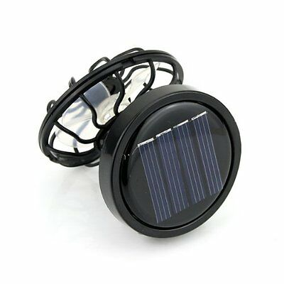 Clip-On Solar Cell Fan Sun Power Energy Panel Cooling Great for traveling FlyP