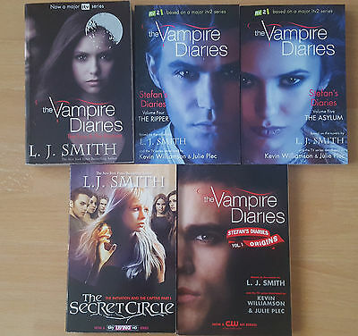 The Vampire Diaries Story Collection L J Smith 5 Books Set