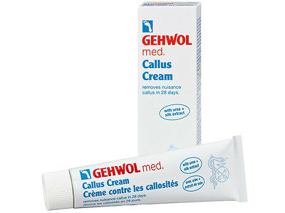 Gehwol Med Callus Foot Cream 125 ml /4.4 oz with Urea
