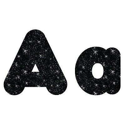"Trend T79944 Ready Letters Casual Combo Pack, Black Sparkle, 4"", 181 per Pack (T"