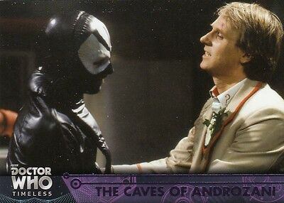 Doctor Who Timeless - Purple Parallel Base 31 The Caves Of Androzani 48/50