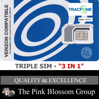 NET10 WIRELESS DUAL SIM Card MINI 2FF + MICRO 3FF • CDMA 4GLTE Verizon MVNO  NEW
