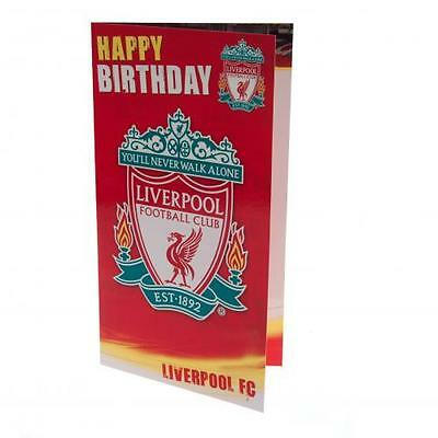 Liverpool Birthday Card - (Official Merchandise)