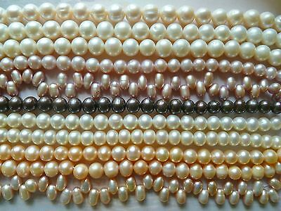 FRESHWATER PEARLS : You Pick COLOUR AND CLASP 925 SILVER WHITES, PURPLES,APRICOT