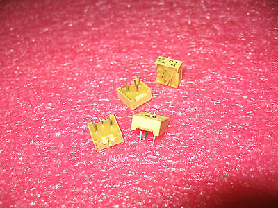QTY: 5 UNITS P/N 63P205 10% Resistor Cermet Trimmer 2M Ohm 10% 0.5W 3 pins