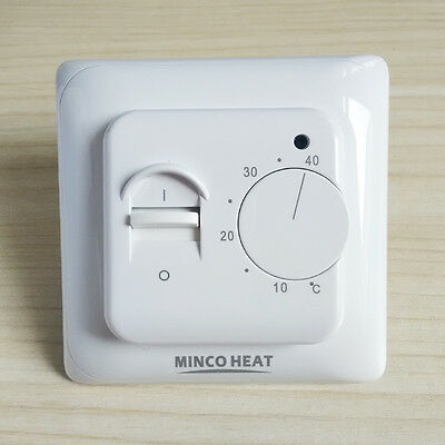 Minco Electric Floor Heating Room Manual Thermostat 220V 16A Warm Floor Use