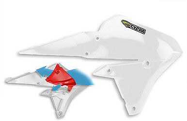 Cycra Powerflow Intake Radiator Shrouds White 1CYC-1779-42