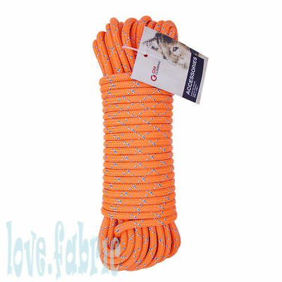 100ft  Rope Double Braid Rigging Line 7/16in Polyester for Pulley System Zipline