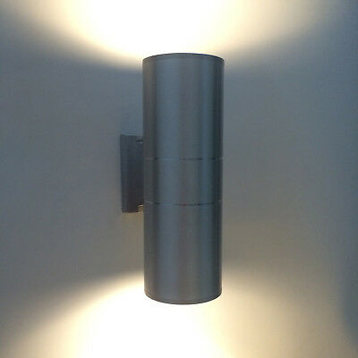 Outdoor 12W LED Wall Sconce Light Up/Down Lamp Waterproof Stainless Garden Patio