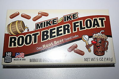 2 x Mike and Ike ROOT BEER FLOAT 141g each box