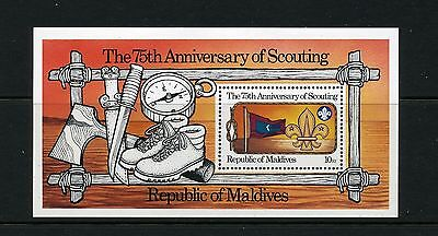 MALDIVES   MNH   960   Scouting S/S     DS456