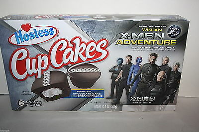 8 x Hostess Cup Cakes Individually Wrapped Cakes 360g box