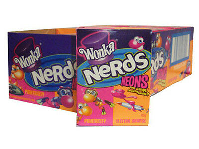 Nerds - Neon Tasty Pinktricity and Electro Orange Flavour - 1 x Individual Box