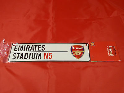 Arsenal FC Car Window Sign / Wall Sign - Official Merchandise