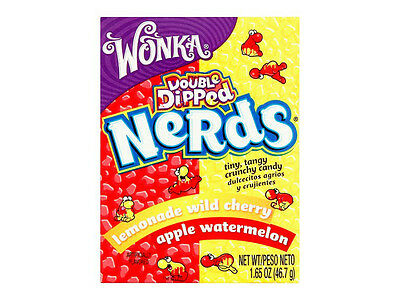 Wonka Nerds - Double Dipped Flavour - Brand New Item