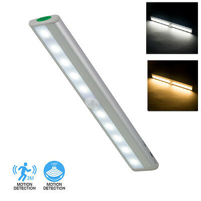 Wireless Motion Sensor Light Under Cabinet Drawer Stick On Lighting Cupboard LED