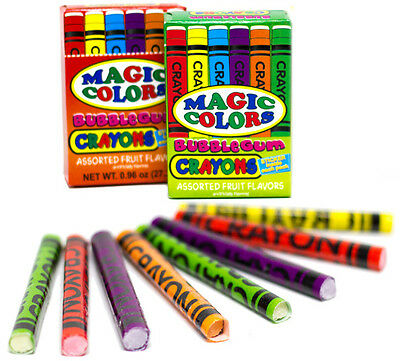 Magic Crayon Bubblegum - Looks Like Real Crayon - Brand New