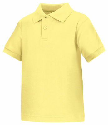 Classroom Uniforms Youth Short Sleeve Matching Collar Polo Shirt. 58830