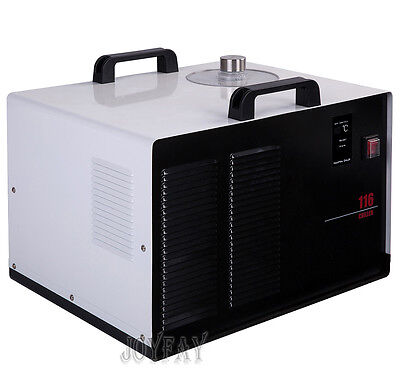 Industrial Water Cooled Chiller Cool Cooling Water Machine 600 J/S