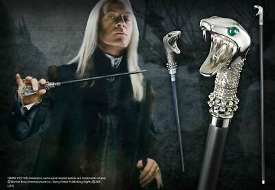 Harry Potter : LUCIUS MALFOY WALKING STICK/WAND from The Noble Collection NOB763