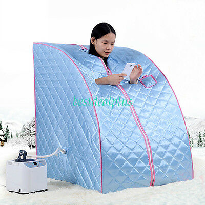 Portable Home Steam Sauna Spa Tent Bath Heater Beauty Weight Loss Slimming