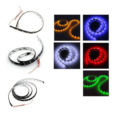 FP 120CM 60 SMD Car Strip Under Light Neon Footwell Flexible - White