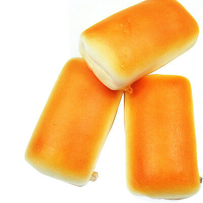 Hot Jumbo Squishy Bread Soft Buns Scented Phone Strap Charms Slow Rising 1PCS