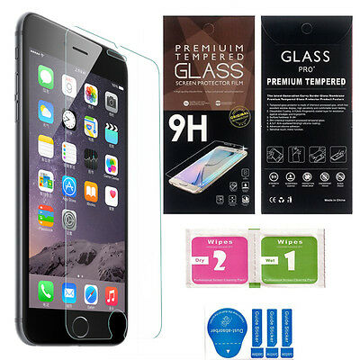 "2 Pack Premium Tempered Glass Screen Protector for iPhone 6 & iPhone 6S (4.7"")"