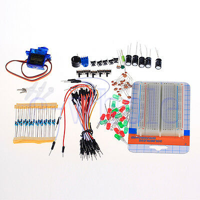 Jumper Kabel-Kit für Arduino Breadboard Widerstände Kondensator Led  DL