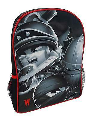 Boys - World Of Warriors Backpack School Bag