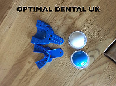 Dental Impression Material Putty With Upper And Lower Trays Uk Seller