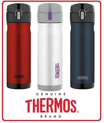 ❤ Thermos STAINLESS STEEL VACUUM Insulated Travel Mug Commuter Bottle 470ml ❤